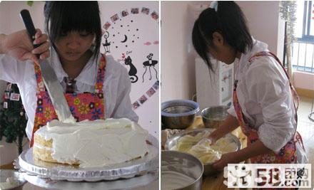 南宁 快乐DIY蛋糕店欢乐出团,引发你无限想象DIY 自制糕点套餐2选