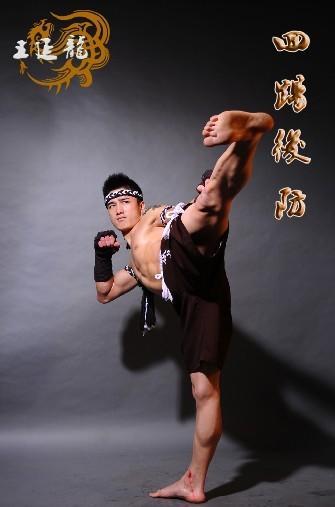 式 回踢后防 天津龙脉古泰拳馆图片