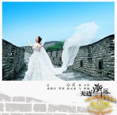 从天津到北京 长亭外古道边拍摄婚照