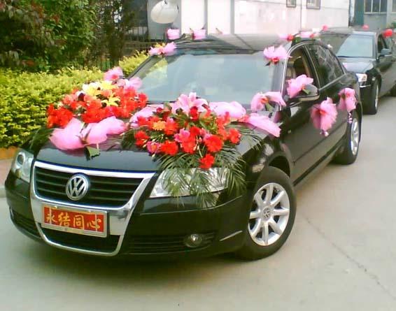 帕萨特婚庆车队高清图片