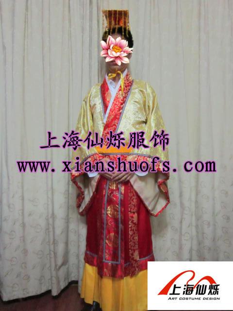 皇帝服装出租 唐朝服装出租 男士古装出租及出售图片
