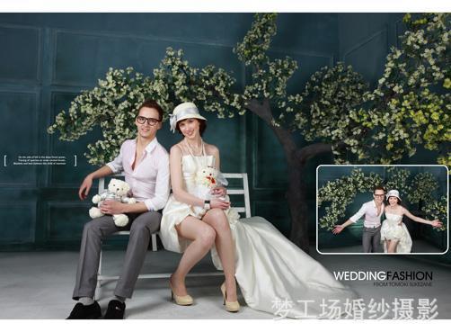 娜佳 梦工场婚纱摄影