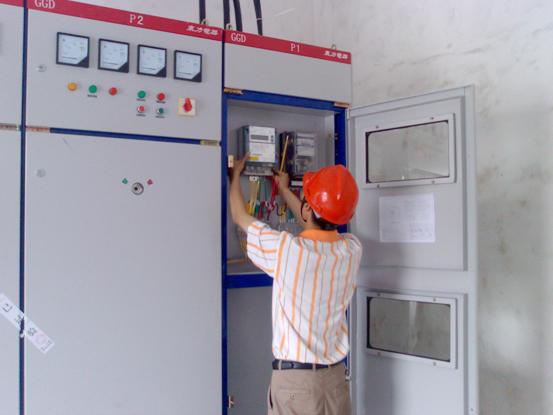 电表安装 新科机电工程部