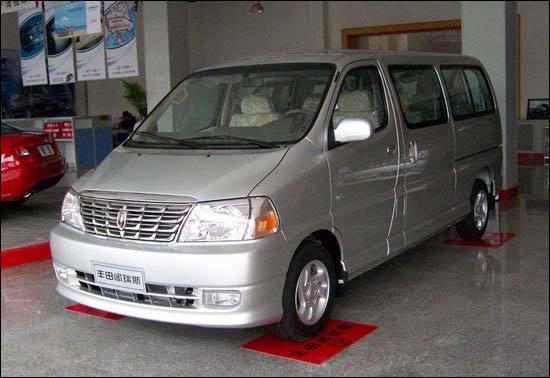 金杯版丰田阁瑞斯商务车 做工质量评高清图片
