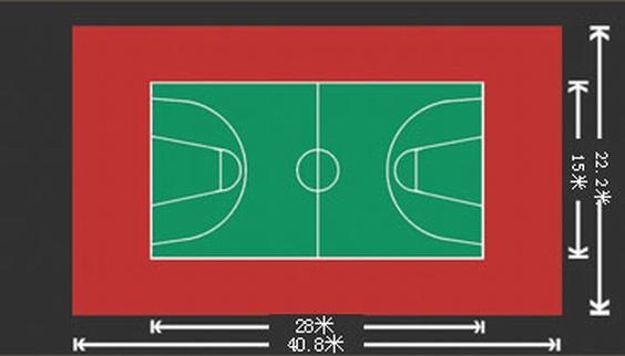 运动场地系列 pvc室内运动地板 篮球场地效果图 产品中心