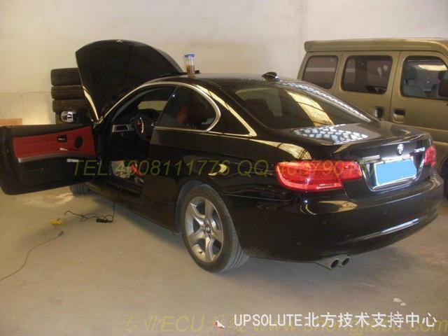 宝马325i硬顶双门轿跑刷ecu案例高清图片