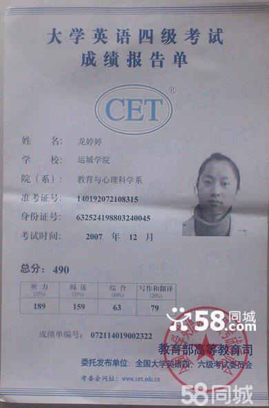 海南教师资格证书