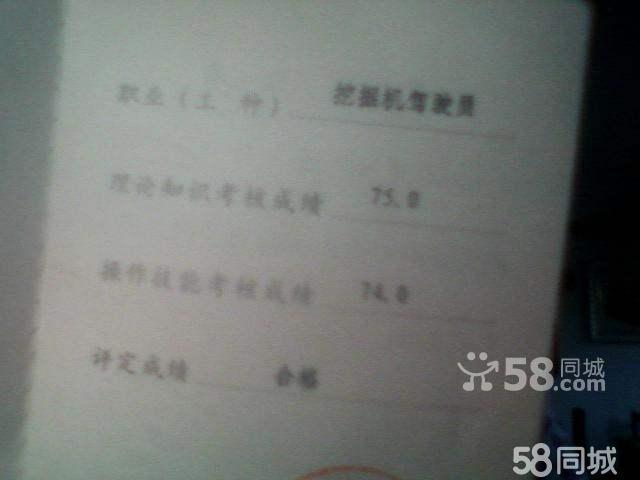 刘宇专业证书