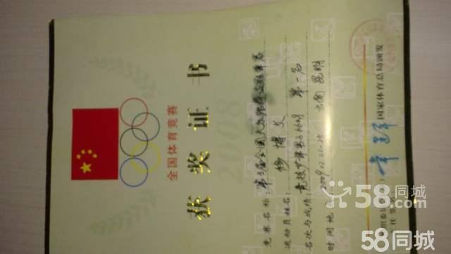 世界跆拳道联盟段位证书