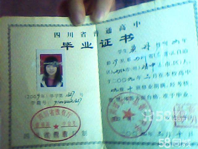 四川高中毕业证 四川高中毕业证样本 四川高中毕业证学籍号图片