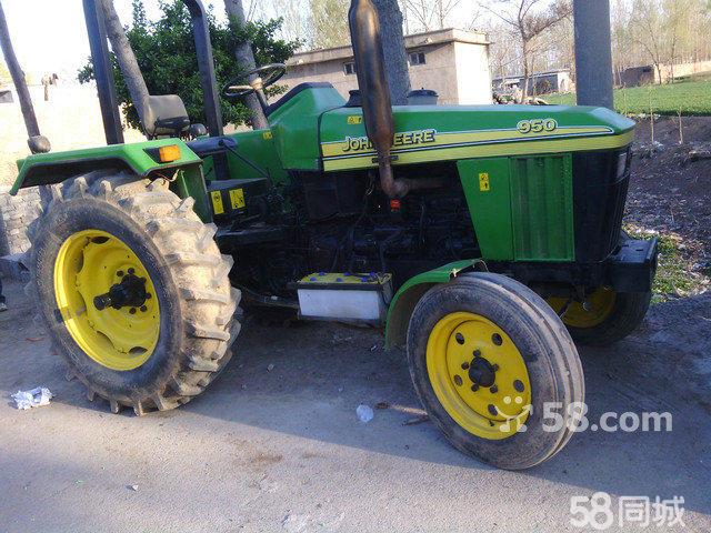 约翰迪尔654拖拉机的图片