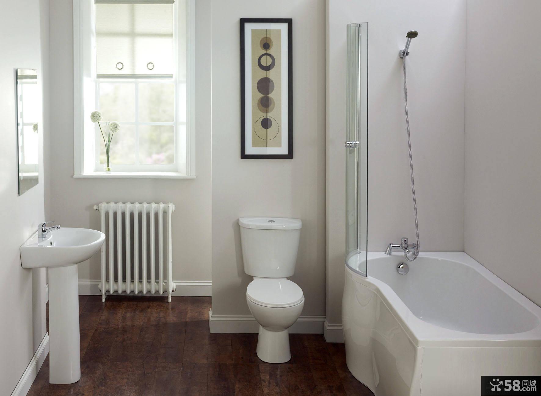 卫生间浴池装修效果图