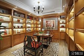 欧式古典风格书房装修
