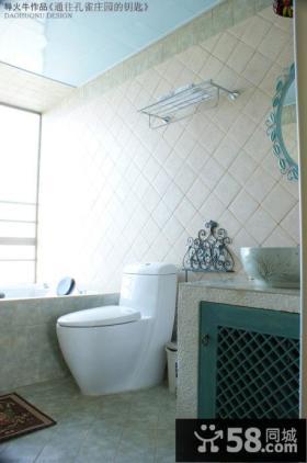 厕所装修效果图 导火牛设计作品