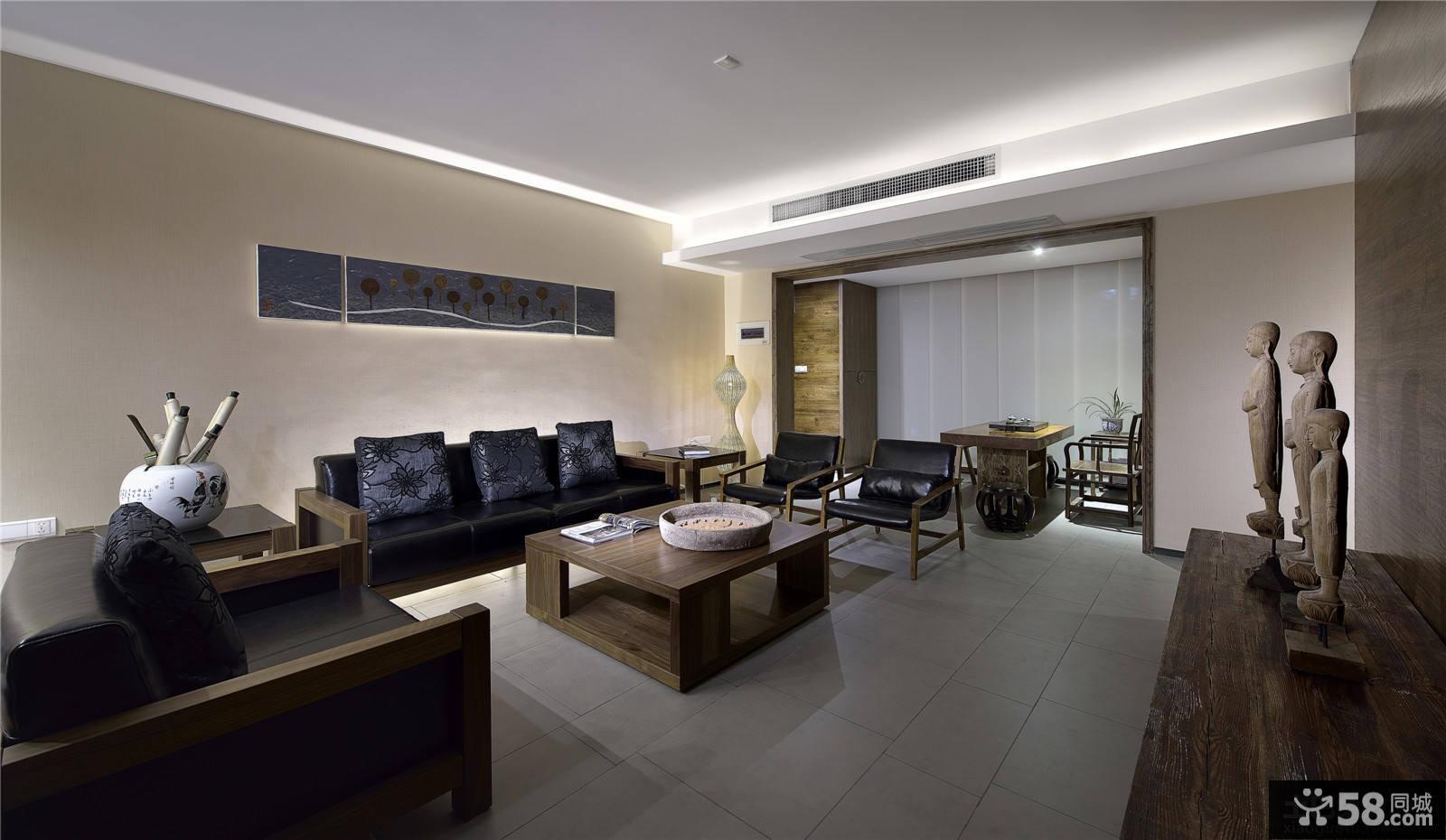 日式风格客厅设计效果图大全