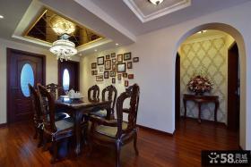 古典奢华欧式三居装潢效果图