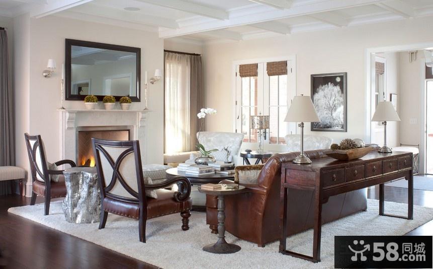 美式客厅装修