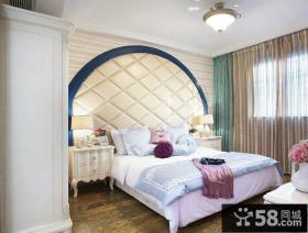 简欧装修设计卧室图片