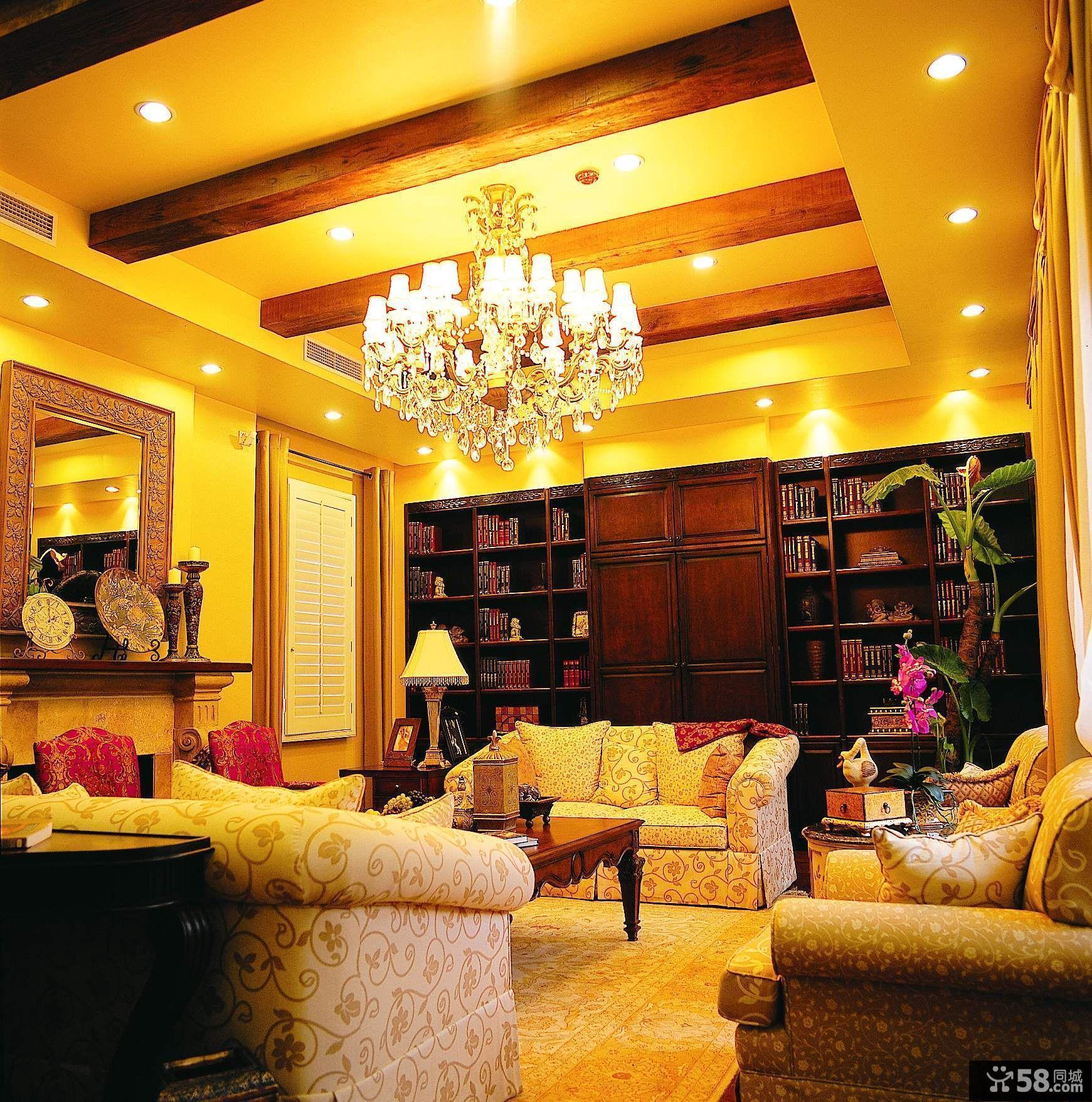 豪华书房设计效果图欣赏大全