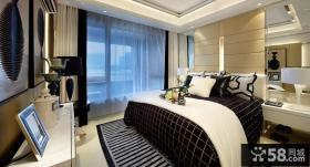 中式家装样板间卧室效果图