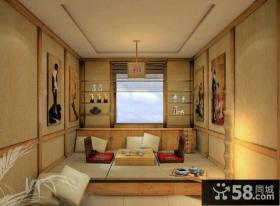 家装室内设计榻榻米图