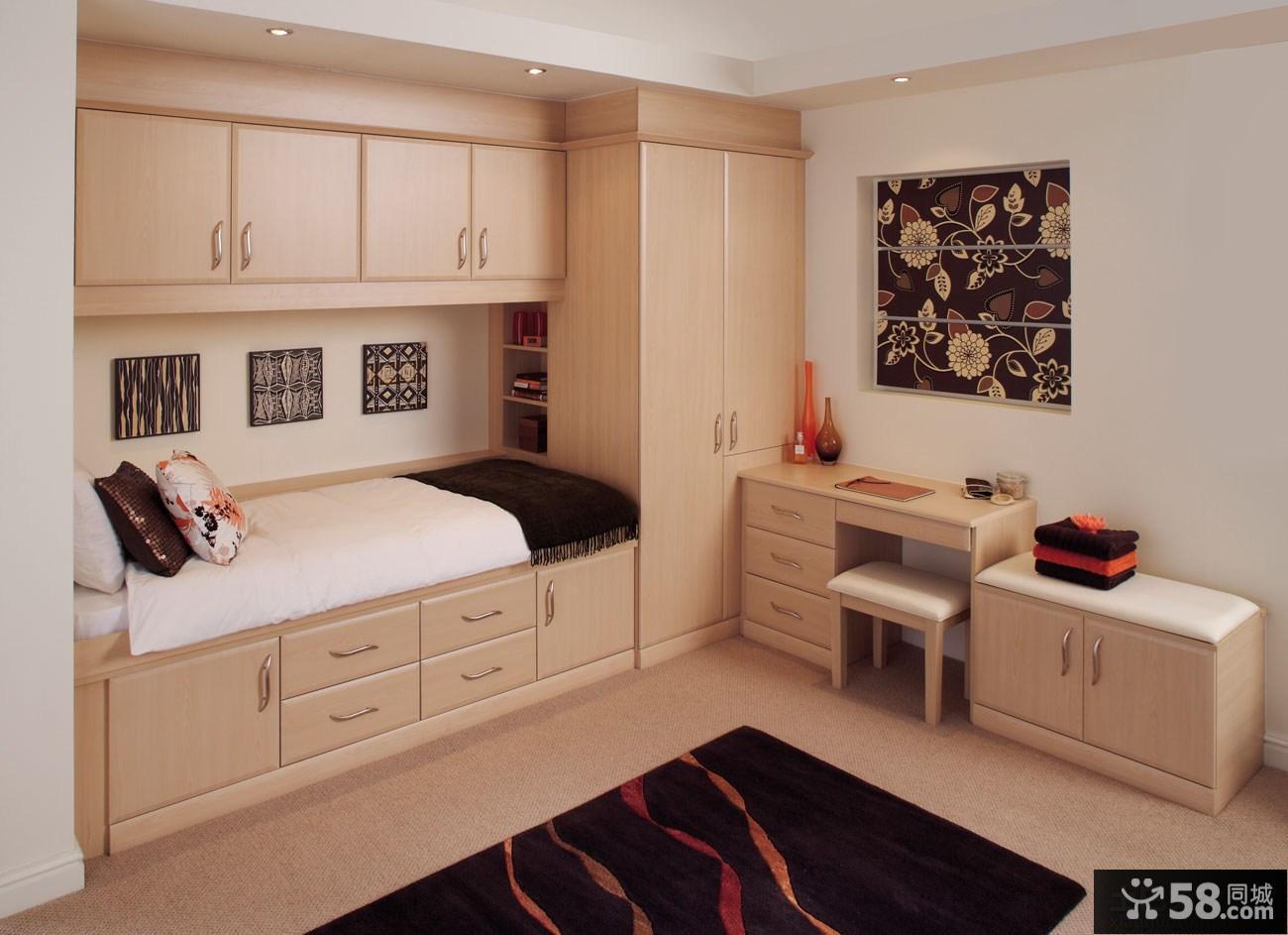 现代时尚卧室组合柜