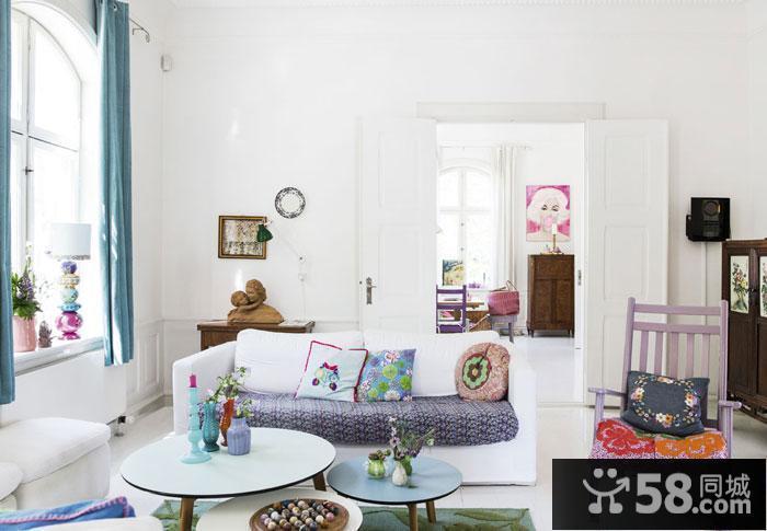 卧室客厅一体装修图