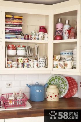 厨房置物架效果图片
