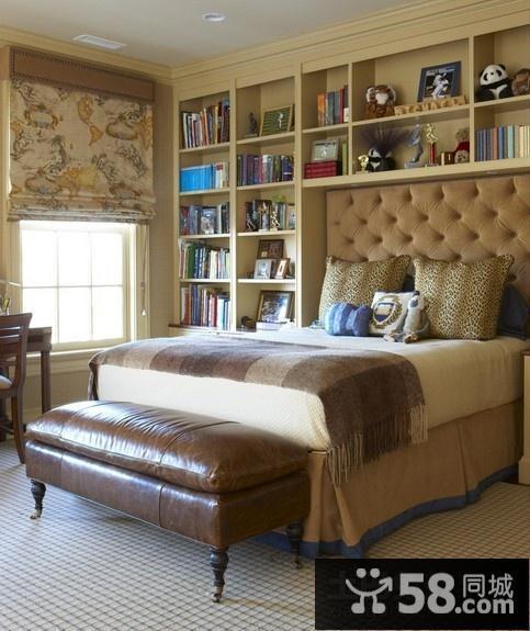 古典欧式风格卧室装修效果图大全212图片