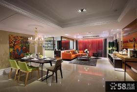 美式风格创意三居室设计