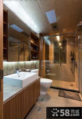 田园风格家居整体卫生间设计