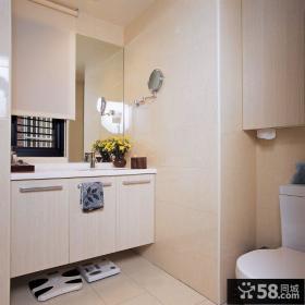 中式风格装修卫生间设计图片2014