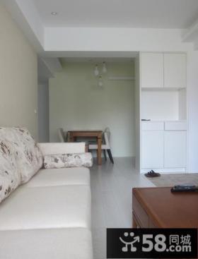 简约日式风格两居室效果图大全