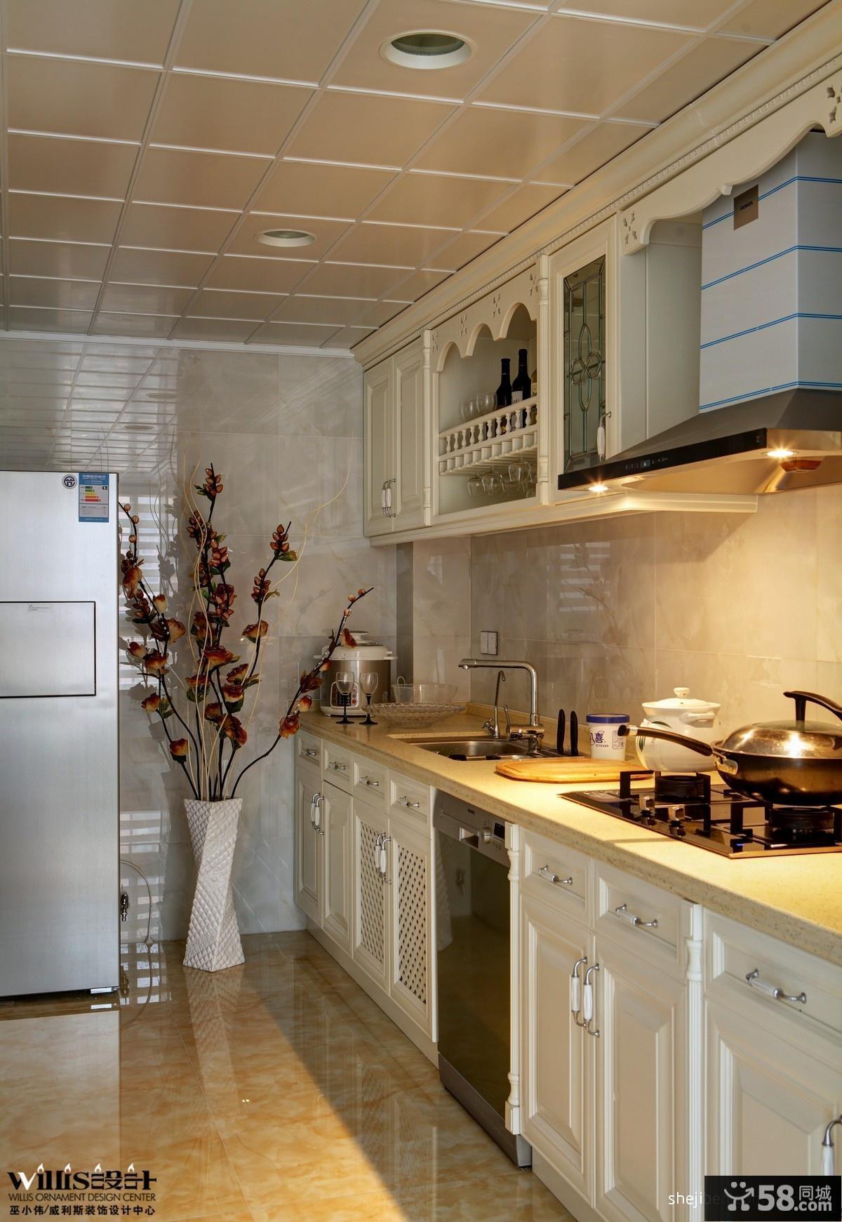 厨房集成吊顶效果图欣赏