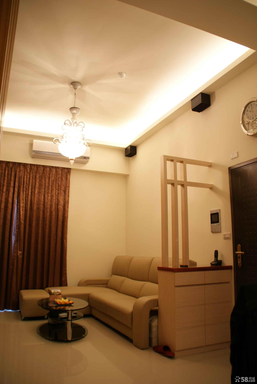 客厅背景墙装饰柜