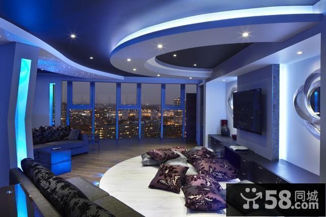 客厅无吊顶设计