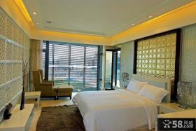 现代风主卧室装修效果图欣赏