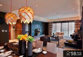 美式风格创意三居室装修