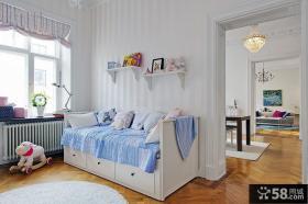 北欧装饰风格儿童房图片