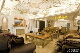 欧式豪华客厅设计图片大全