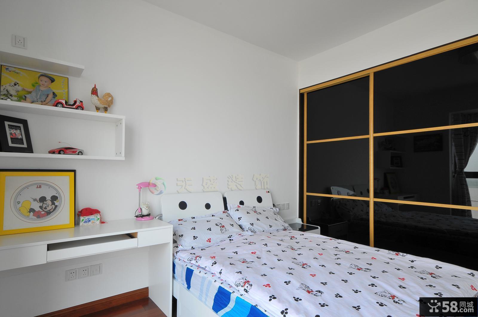 简装儿童房间布置效果图欣赏