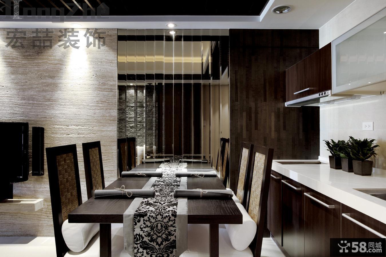现代家装餐厅图片