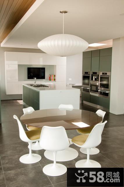 厨房橱柜门颜色效果图