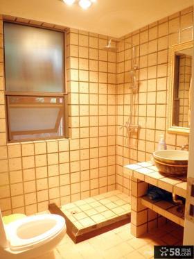卫生间方块瓷砖效果图
