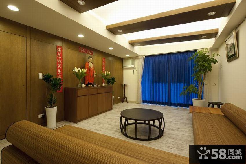 日式风格一居室室内装修图片