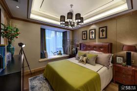 豪华美式风格卧室设计效果图大全欣赏