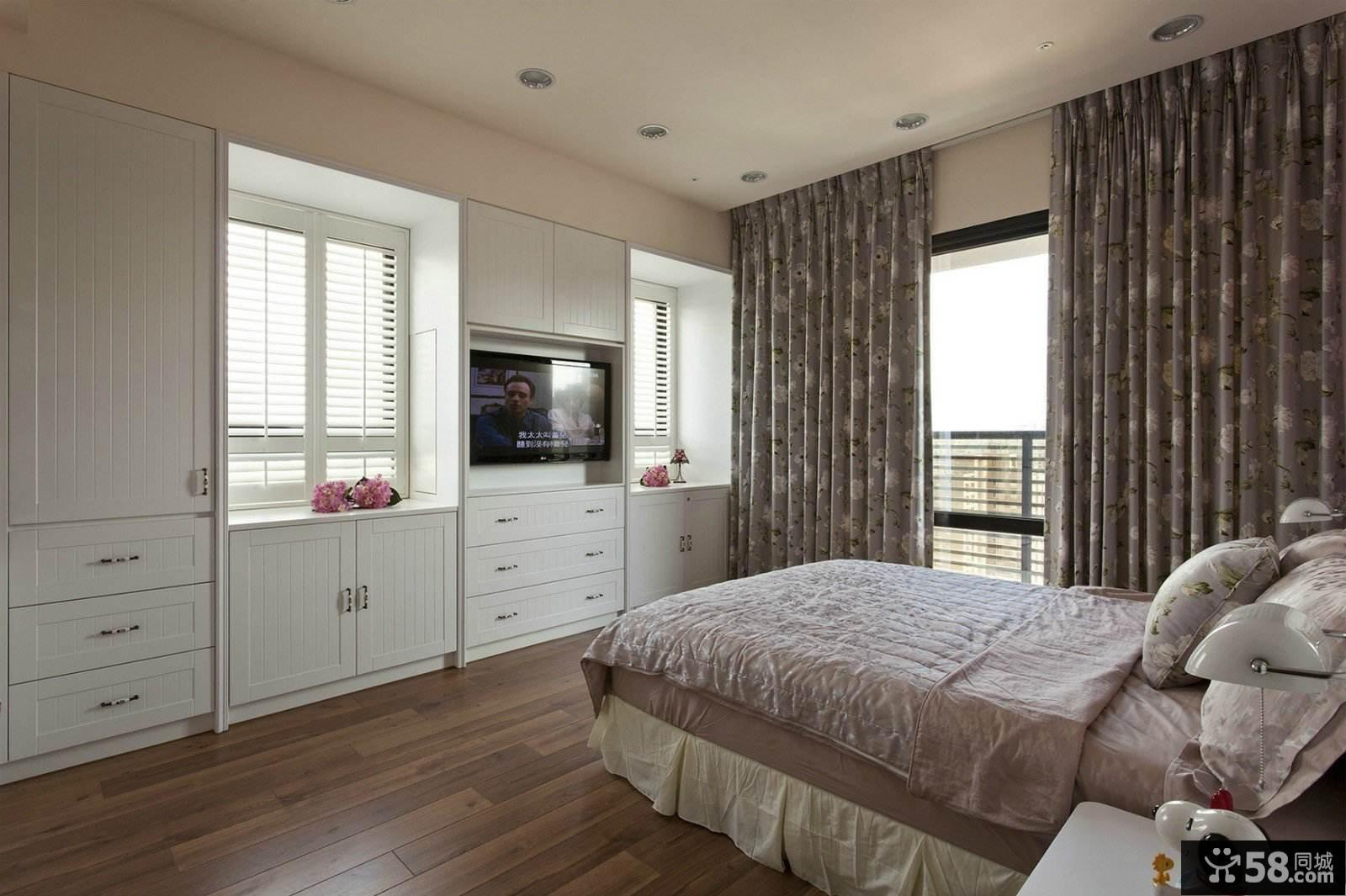 精致美式卧室设计效果图