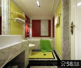 整体卫生间瓷砖装修效果图