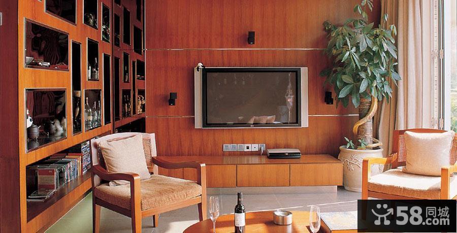 美式简约电视背景墙