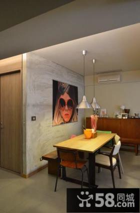 复古简约公寓室内图片